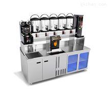 诺道夫水吧台奶茶操作台吧台保鲜柜冷冻柜