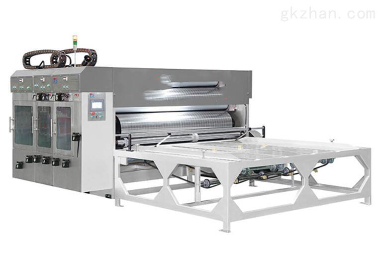 XZ型瓦楞纸板多色印刷开槽机