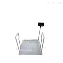 上下斜坡打印电子轮椅秤,无线血透秤