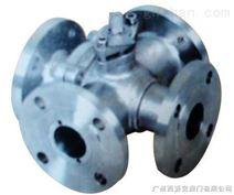 广州四通球阀  广州阀门 型号Q46  安装尺寸结构图