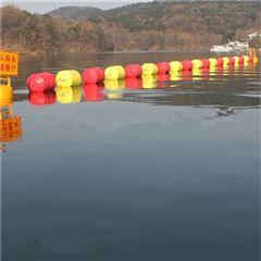 航道警戒線浮筒