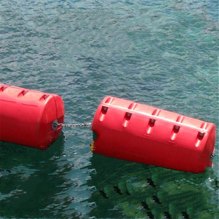 浪塑料穿绳浮筒 消浪堤浮漂厂家