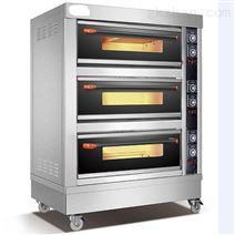 佛山研满三层六盘烤箱商用电烤箱