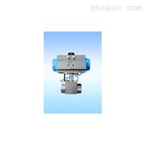 气动高压球阀、气动螺纹高压球阀