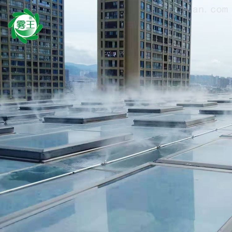 屋顶喷雾降温系统