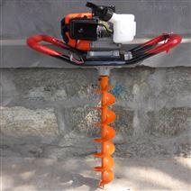 家用汽油地钻 挖坑机 小型手提打洞钻眼机