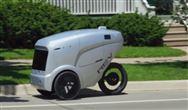 三轮送餐机器人亮相美国街头 使用量增长约四倍
