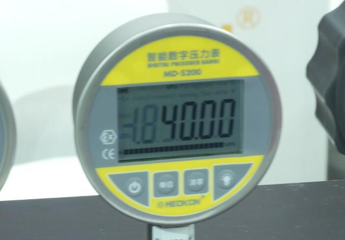 上海銘控攜智能數字壓力表產品亮相中國工博會