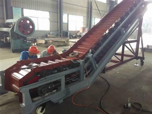 裝動品鱗板機-水泥熟料專用鱗板輸送機與鏈購分