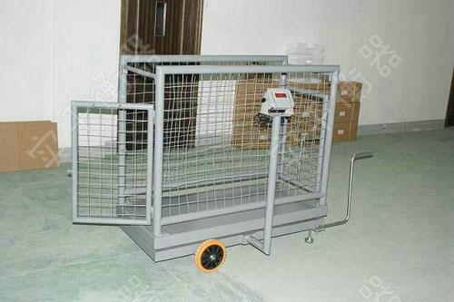 碳钢框架式畜牧秤图片