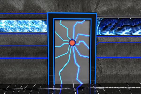 智能掌紋感應艙門