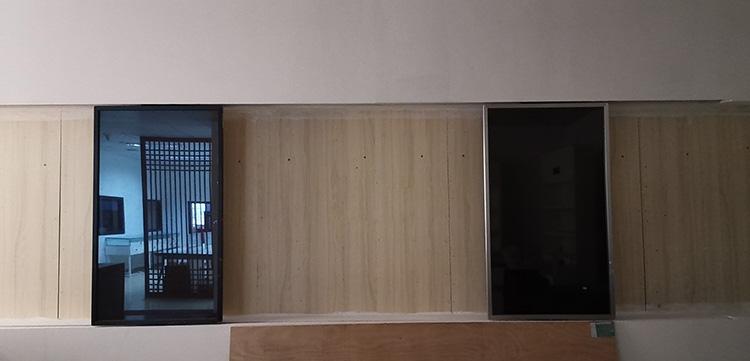 展厅滑轨屏定制
