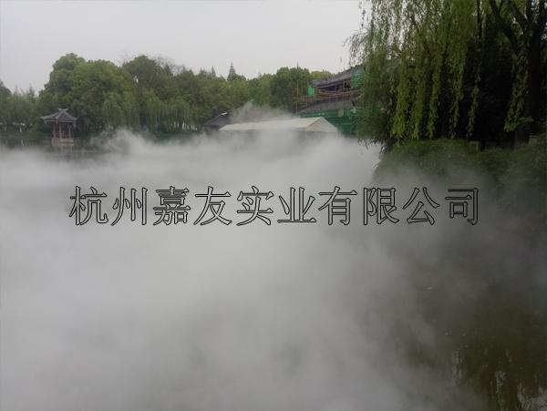 人造雾设备案例1